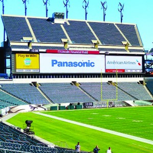 Lincoln Financial Field - Philapelphia Eagles - Pantallas Panasonic 01
