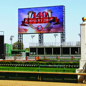 Panasonic BigBoard @ Hipodromo Churchills Downs H